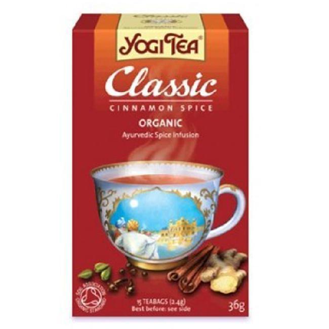 Ceai classic BIO cu scortisoara YOGI