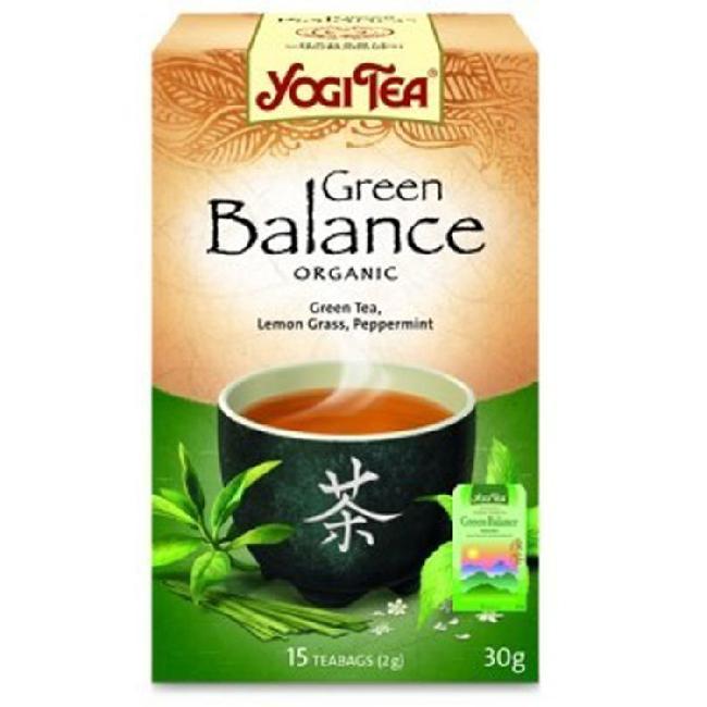 Ceai verde BIO pentru balance YOGI