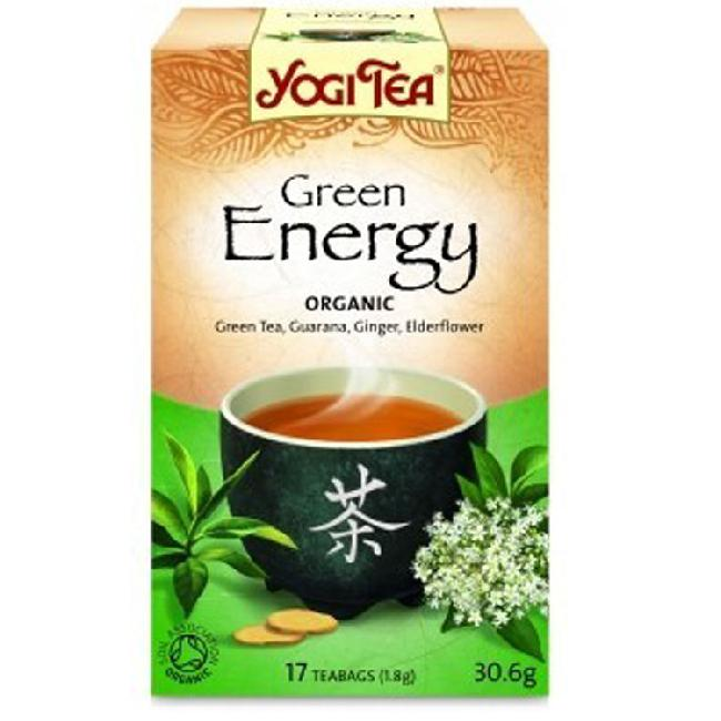 Ceai verde BIO pentru energie YOGI