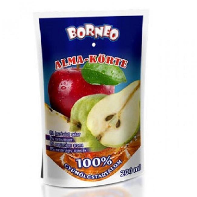 Suc natural din fructe 100%  MAR - PERE  200ml