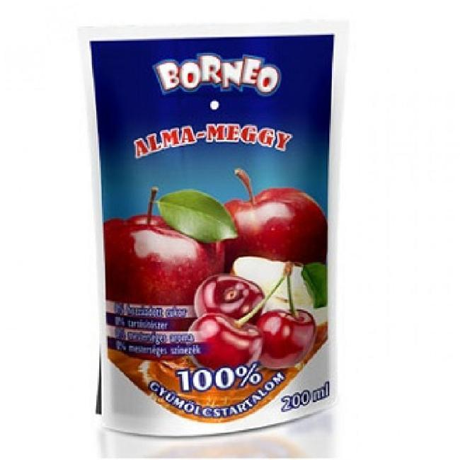 Suc natural din fructe 100%   MAR - VISINE 200ml