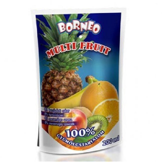 Suc natural din fructe 100%  MULTI FRUIT 200ml