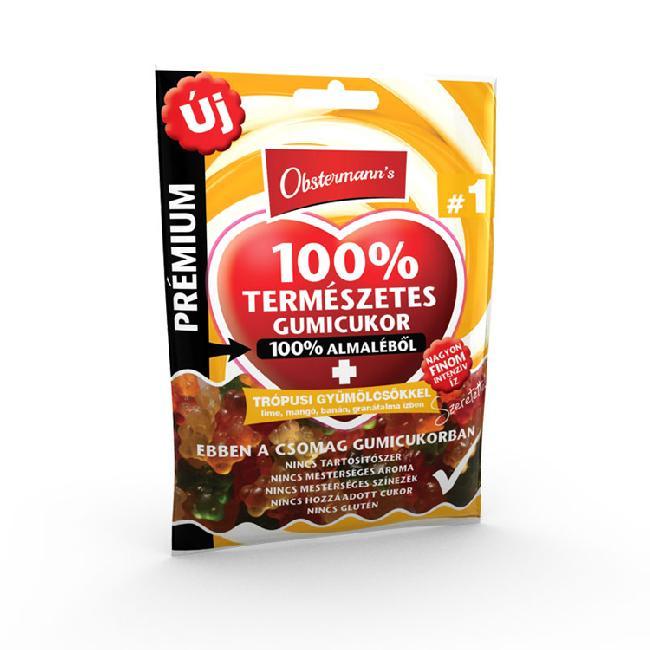 Jeleu din suc de mar 100%    fara gluten   TROPICAL 80G