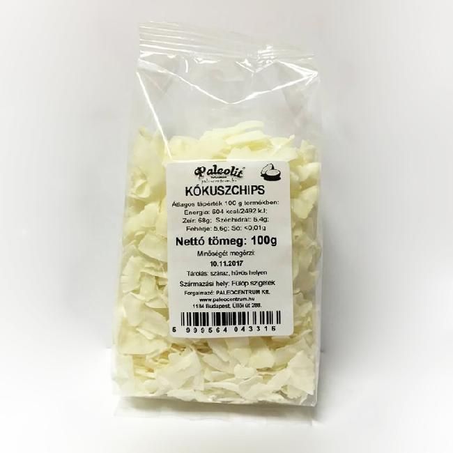 Chips din cocos Paleolit 100g
