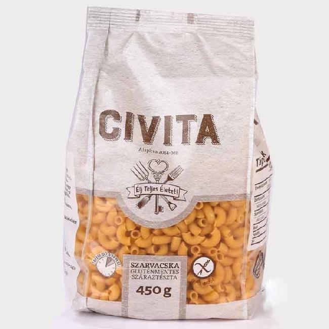 Civita Paste Cornisoare fara gluten 450g