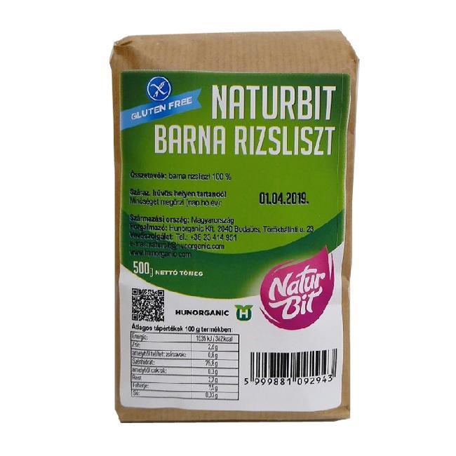 Naturbit Faina de orez brun 500g