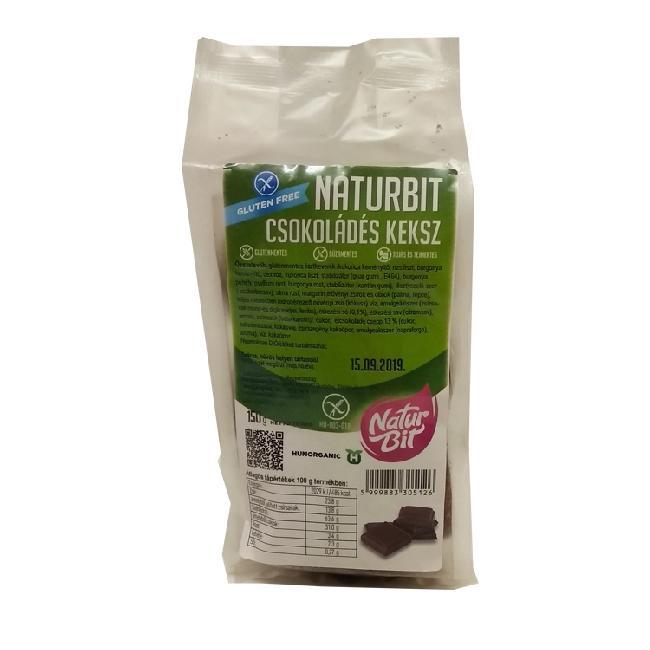 Naturbit biscuiti ciocolata 150g