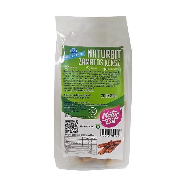 Naturbit biscuiti gustosi 150g (cu condimente pt turta dulce)