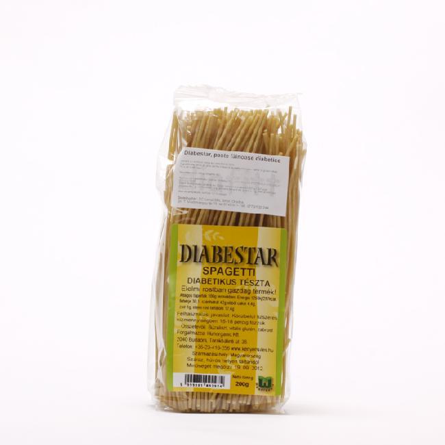 Diabestar paste spaghete cu carbohidrat scazut 200g