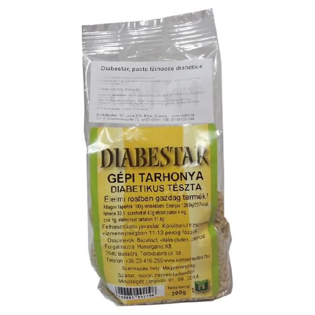 Diabestar paste cus-cus cu carbohidrat scazut 200g