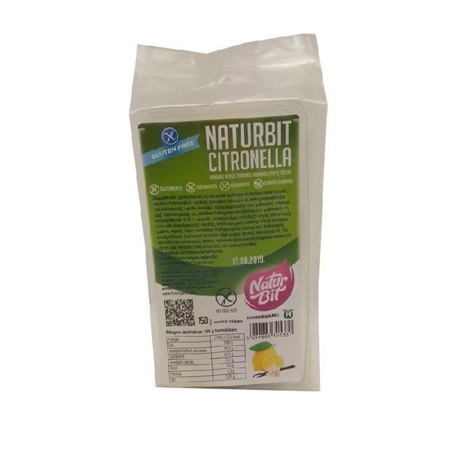 Naturbit biscuiti cu crema de lamaie 150g