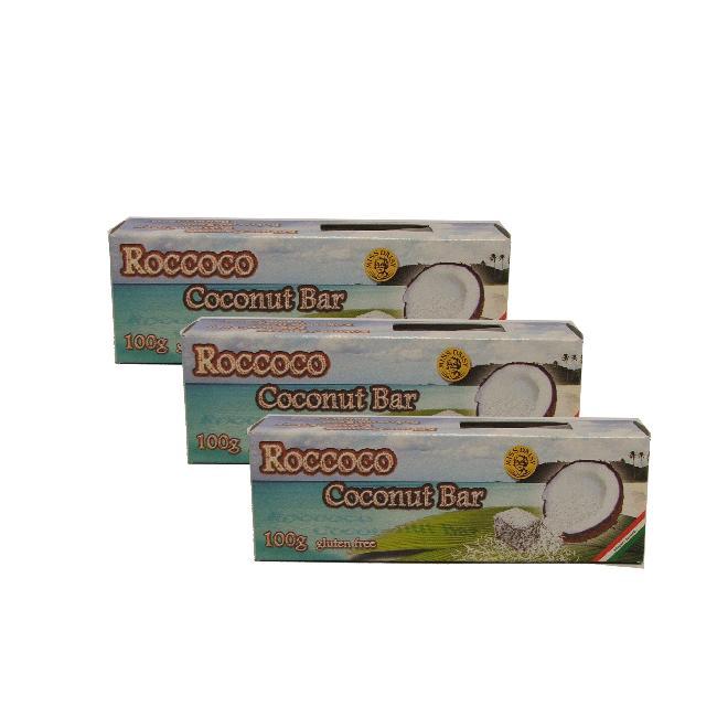 Roccoco baton cu Cocos fara gluten 100g