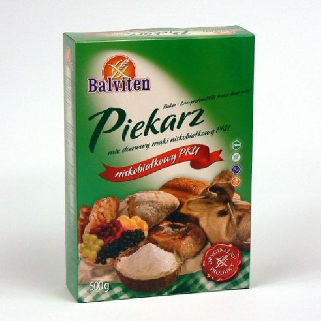 Balviten Mix pentru paine PKU 500g