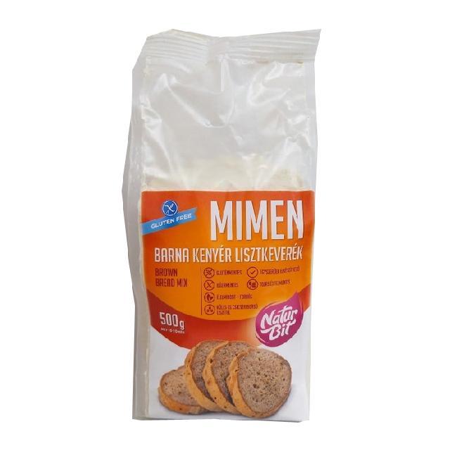 MIMEN Mix pentru paine neagra si panificate 500g