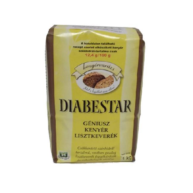 Diabestar amestec de faina cu carbohidrat scazut cu seminte GENIUSZ 1kg