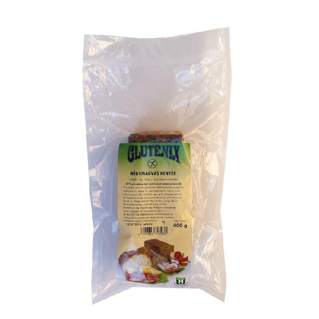 Glutenix Paine cu patru seminte 400g   precomanda pana VINERI