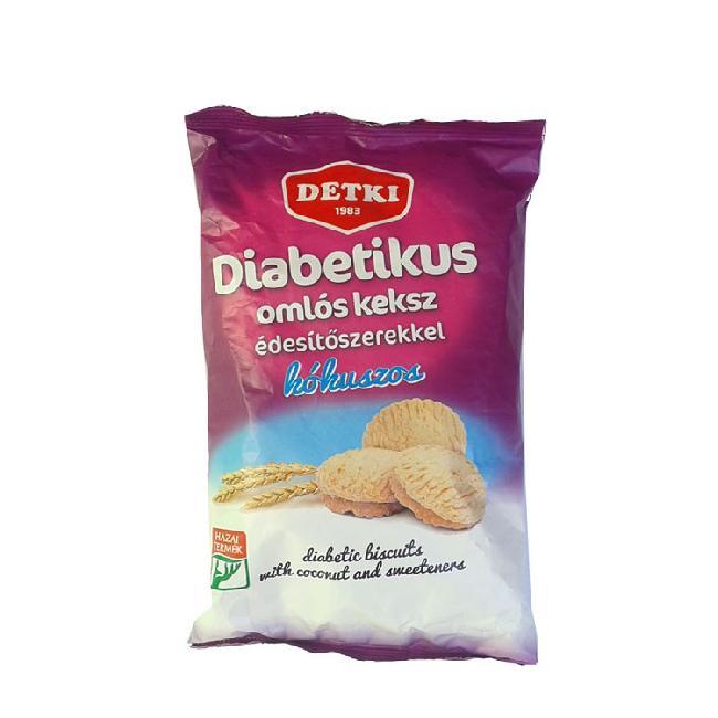 Detki Linzert diabetic cu cocos si indulcitori 180g