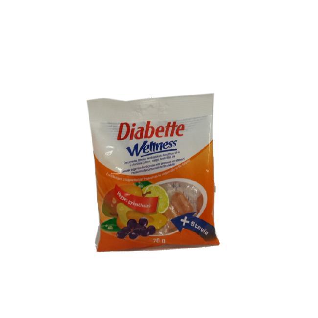 Diabette Wellness bomboana fructe 70g diafitt fara gluten