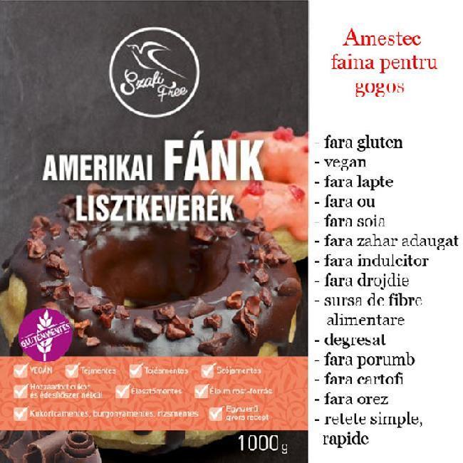 SZAFIFree Amestec faina pentru gogosi americane 1kg