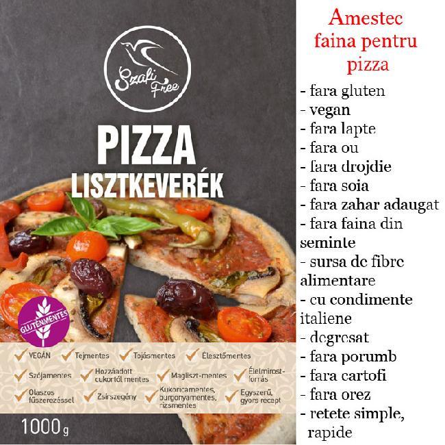 SZAFIFree  Amestec faina pentru pizza 1kg